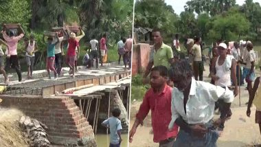 Bihar Assembly Election 2020: The administration has not paid attention to the demand of villagers in Bihar's Gaya for 30 years, the villagers themselves started to construct the pending bridge