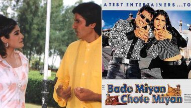 Bade Miyan Chote Miyan: Raveena Tandon remembers lunch time with Amitabh Bachchan and Govinda