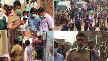 Blast In Agra Firecracker Factory: Blast in firecrackers warehouse in Agra, Uttar Pradesh, 2 killed, 4 injured