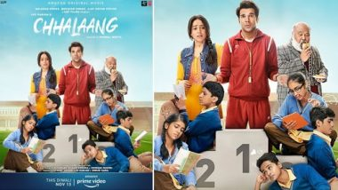 Chhalaang Trailer: Trailer of Rajkummar Rao and Nusrat Bharucha's film Chalap is a great family entertainer with comedy and emotional drama.