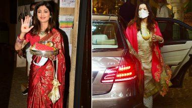 Karwa Chauth 2020: Shilpa Shetty, Bhavna Pandey celebrating many celebs including Karva Chauth, Anil Kapoor's house