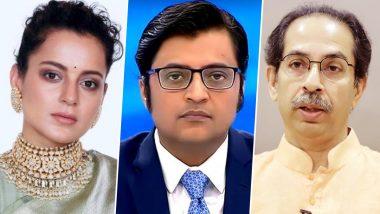 Kangana Ranaut Backs Arnab Goswami: Kangana Ranaut lashes out at Maharashtra government over Arnab Goswami's arrest