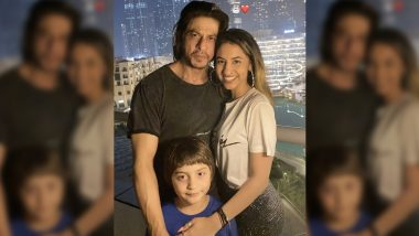 Shah Rukh Khan's Birthday: This girl posing near Burj Khalifa with Shah Rukh Khan and Abram Khan is a very special member of the family, know details!