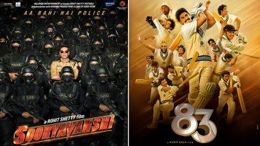 Sooryavanshi and 83 Release: जनवरी 2021 के अंत तक हो सकती है फिल्म 'सूर्यवंशी' और '83' की रिलीज डेट की घोषणा!