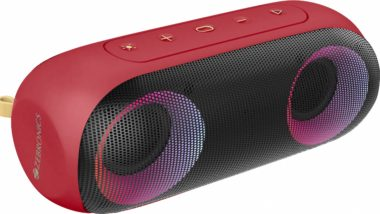 Zebronics launches powerful speaker 'pocket-music bomb x', know why it is special