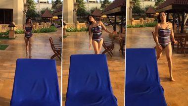 मोना लिसा बिकिनी वीडियो: भोजपुरी हॉट अभिनेत्री मोनालिसा ने जलती हुई वीडियो साझा की