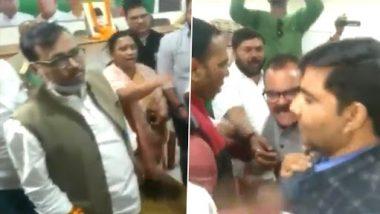 झारखंड में बैठक के दौरान आपस में भिड़े कांग्रेस के कार्यकर्ता, जमकर हुई तू-तू मैं-मैं (Watch Video)