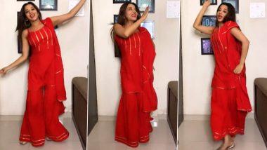 Monalisa Hot Photos: भोजपुरी एक्ट्रेस मोनालिसा का नया डांस वीडियो है बेहद मजेदार, रेड कलर की ड्रेस पहन खूब नाची