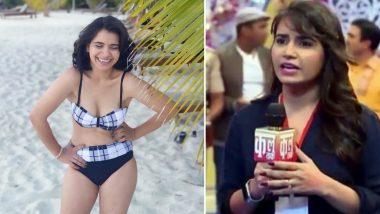Taarak Mehta...शो की रीटा रिपोर्टर उर्फ Priya Ahuja ने बिकिनी पहनकर पोस्ट की बेहद हॉटPhotos,बीच पर दिखा सेक्सी स्टाइल