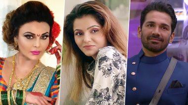 राखी सावंत ने दावा किया - रुबीना और अभिनव मेरी वजह से साथ हैं