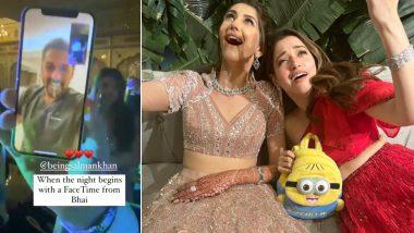 Salman Khan ने Video कॉल करके पूरी की दुल्हन की ख्वाहिश, शादी में Tamannaah Bhatia ने जमाया रंग
