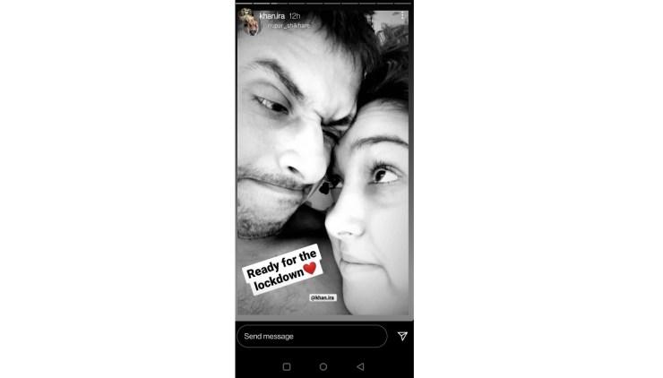 Aamir Khan की बेटी Ira khan ने बॉयफ्रेंड Nupur Shikhare संग पोस्ट की रोमांटिक फोटो, कहा- लॉकडाउन के लिए तैयार हूं! World Daily News24
