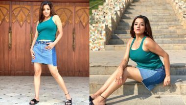 Monalisa Dance Video: Bhojpuri actress Monalisa impresses fans with hot dance