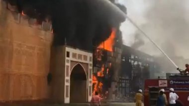 Fire at ND Studios: Hrithik Roshan-Aishwarya Rai's film set 'Jodha Akbar' shooting set in ND Studios horrific fire