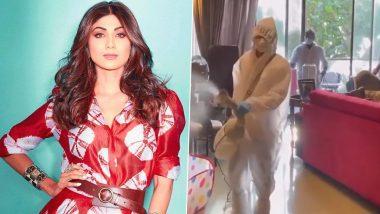 Shilpa Shetty's family beats Corona, actress gets entire house sanitized (Video)