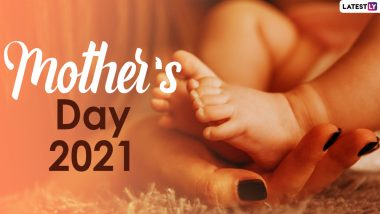Mother's Day 2021 and Matru Divas Wishes: Congratulations on Mother's Day through WhatsApp Stickers, Facebook Greetings, and HD Images