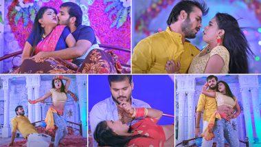 Bhojpuri Song: Arvind Akela Kallu's romantic song brought storm on the internet, more than 3 crore views Video