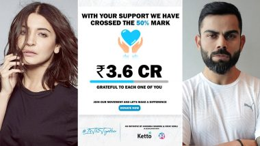 Anushka Sharma and Virat Kohli raised Rs 3.6 crore for Corona patients, the target is to collect this much money