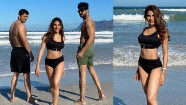 Nikki Tamboli wore a sexy bikini to Varun Sood for a workout, see video