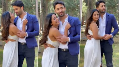 Hina Khan glimpsed her new song Rani Banana, seen in romantic poses with Shaheer Sheikh