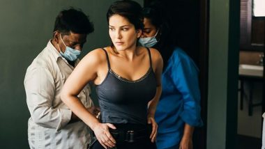Sunny Leone Photo: Sunny Leone shared this interesting picture from the shooting set, the fans asked- Where is Mask?