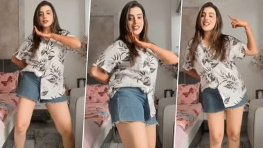 Bhojpuri actress Akshara Singh did hot dance wearing short jeans, amazing style shown in the video