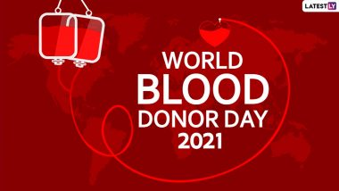 World Blood Donor Day 2021: रक्तदान करने के लिए प्रोत्साहित करता है विश्व रक्तदाता दिवस, जानें थीम, इतिहास और महत्व