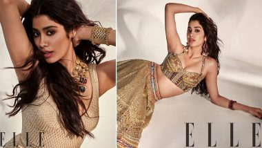 Janhvi Kapoor Hot Photoshoot: Janhvi Kapoor clean bold young actresses in her Indo-Western avatar