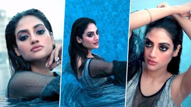 Pregnant Nusrat Jahan showed her hot style in the swimming pool, fans commented on the video