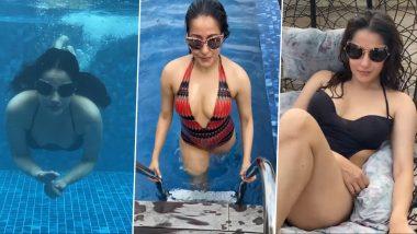Raima Sen Hot Video: Bengali Bala Raima Sen showed her bold avatar wearing a swimsuit, watch hot video