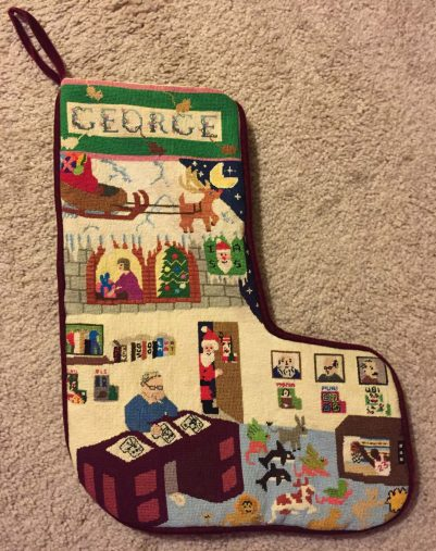 George Stockings Stockings Needlepoint To Pique The Historical