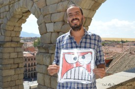 Alberto Martín (Escritor) (2016) (by Josechu Egido)