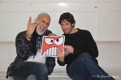 Freddie Cheronne y Hector Heredero de Dusty Riders 2018