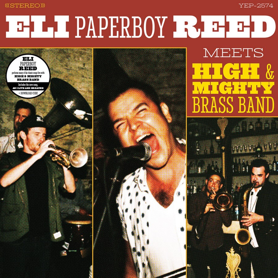 Eli Paperboy Reed meets High and Mighty Brass Band (2018)
