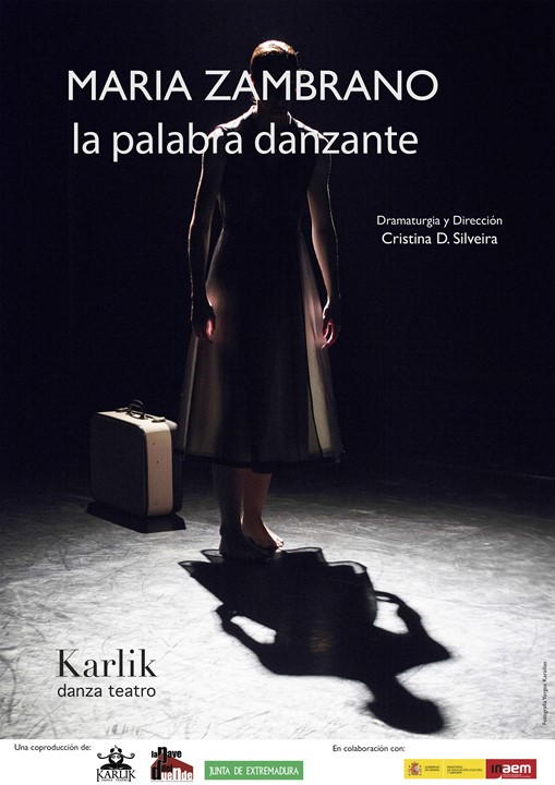 Karlik Danza-Teatro - Maria Zambrano (Cartel)
