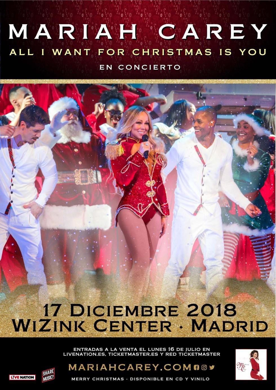 Mariah Carey Concierto 28-12-2018