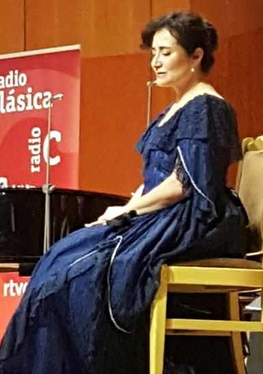 """Blanca Gómez, """"El diario de Clara Schumann"""" Los Conciertos de Radio Clásica."""