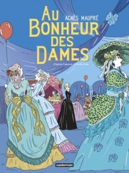 Couverture de la BD « Au Bonheur des Dames » d'Agnès Maupré (Casterman, 2020)