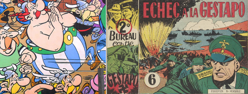 images de bandes dessinées historiques