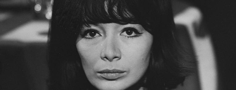 Juliette Greco, 21 mars 1963. Nationaal Archief, Pays-Bas (image libre de droits)