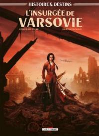 Couverture de la BD « L'insurgée de Varsovie » (Delcourt, 2021)