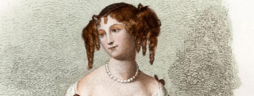 Gravure de Marie-Madeleine Pioche de La Vergne, devenue Madame de La Fayette. Crédits : Geille - Getty