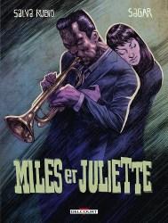 Couverture de la BD « Miles et Juliette » (Delcourt, 2019)
