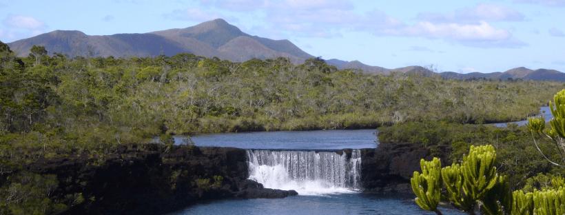 Chutes de la Madeleine, Nouvelle Calédonie, 2008.