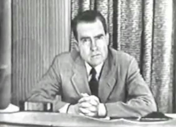 De Checkers-speech van Richard Nixon (1952)