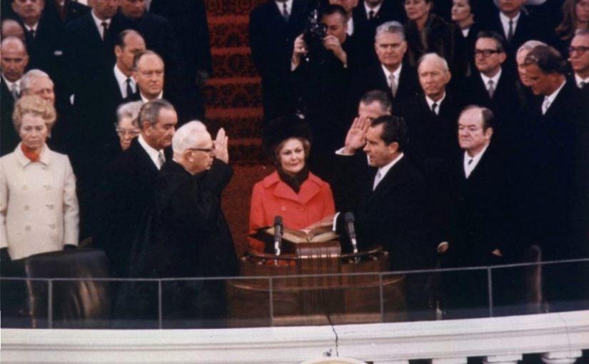 Inauguratie van Richard Nixon, 20 januari 1969