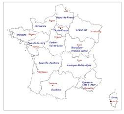 régions france