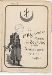 Histo_Regimentaire_1er_Zouave