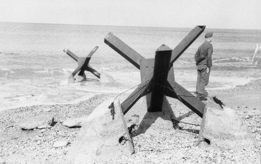 Obstacle Rommel plages débarquement