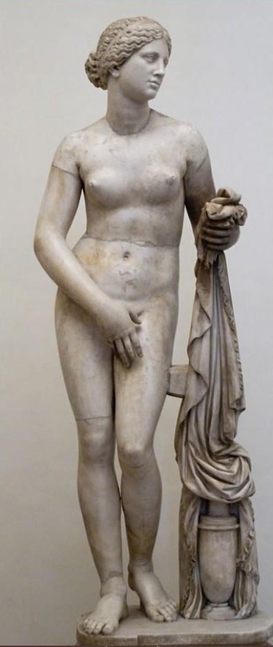 Aphrodite de cnide-copie-romaine-palais Altemps
